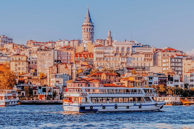 Bosphorus Cruise with Audio Tour in Istanbul