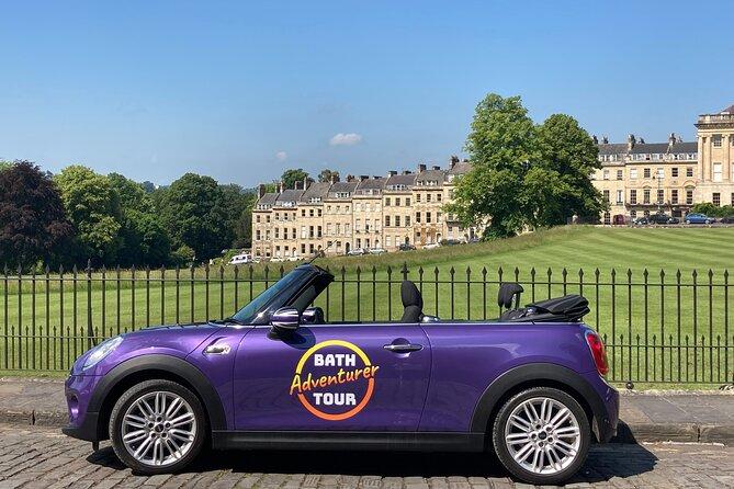 Private1-Hour Bath City Adventure Tour in a Mini Convertible