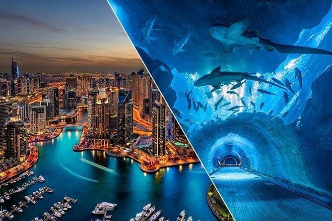 Burj Khalifa: At the Top (125th Floor), Dubai Aquarium & UW- Zoo Combo Admission