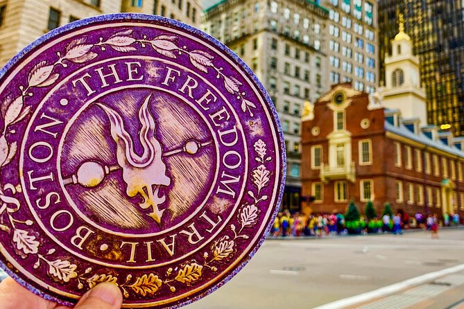 Boston's Freedom Trail History + Photo Walking Tour of (Small Group)