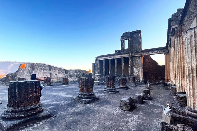 Pompeii in the afternoon 3 hours Tour