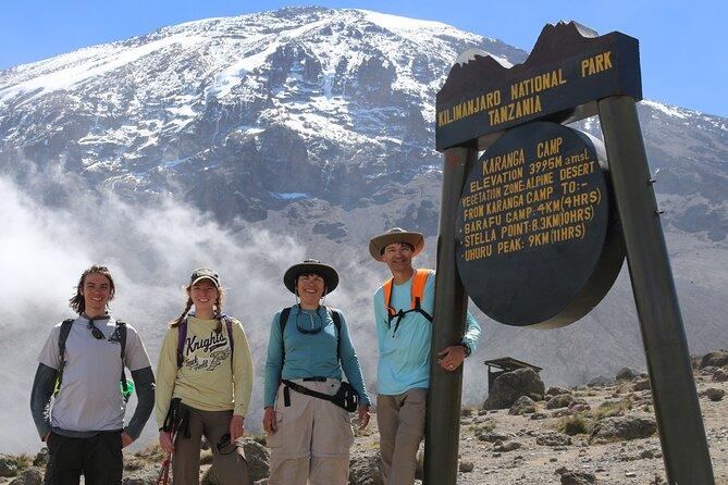 6 Days Kilimanjaro via Machame route affordable price
