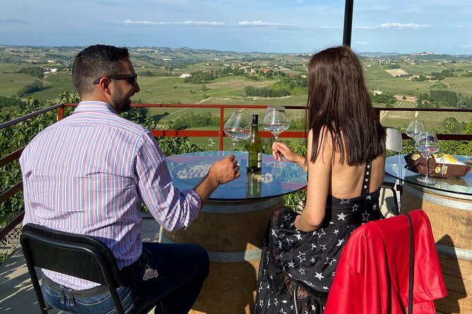 Wine Tasting on the Terrace - Visit to the Cellar & Vineyards between Langhe & Monferrato