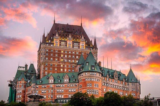 Private 3-day Quebec City Road Trip with Sightseeing Cruise(Self-guided)