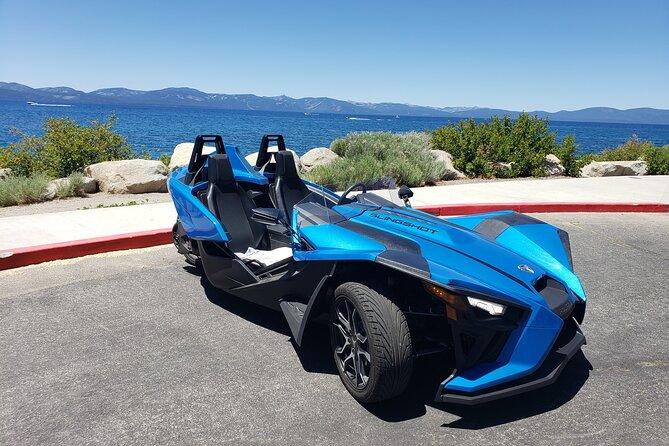 4 Hour Lake Tahoe Polaris Slingshot Rentals
