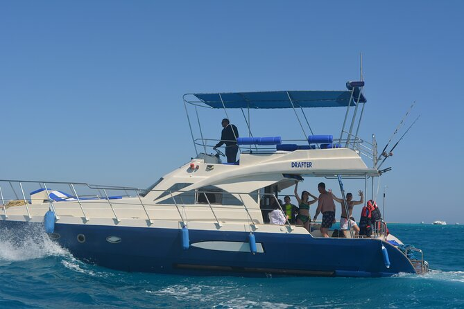 3 Hours Private Boat Sunset Snorkeling Sea Trip Up to 10 Pax - Hurghada