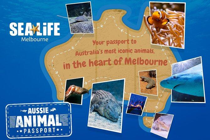 SEA LIFE Melbourne Aquarium Admission Ticket