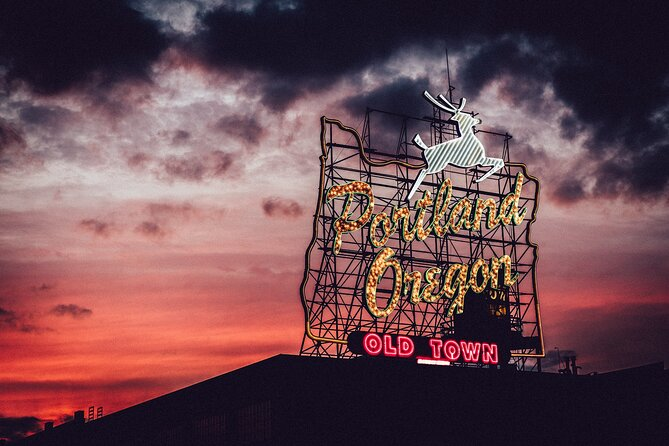 """Self Guided Solo """"Weird and Wonderful Portland"""" Walking Tour in Old Town"""