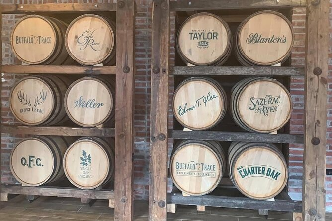 Full Day Bourbon Trail starting with Buffalo Trace Tour and Tasting