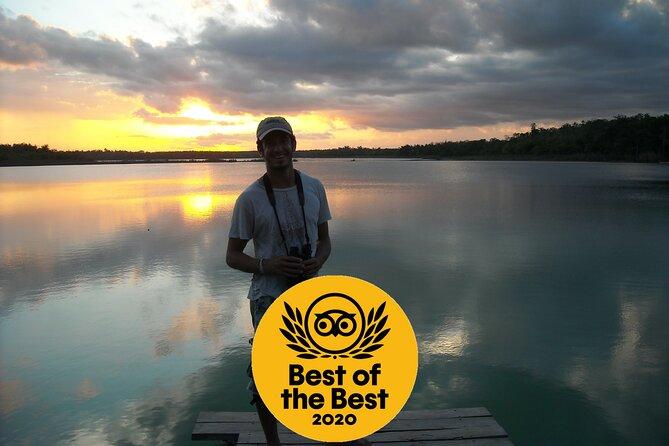 Sian Ka'an Sunset Boat Tour and Birdwatching