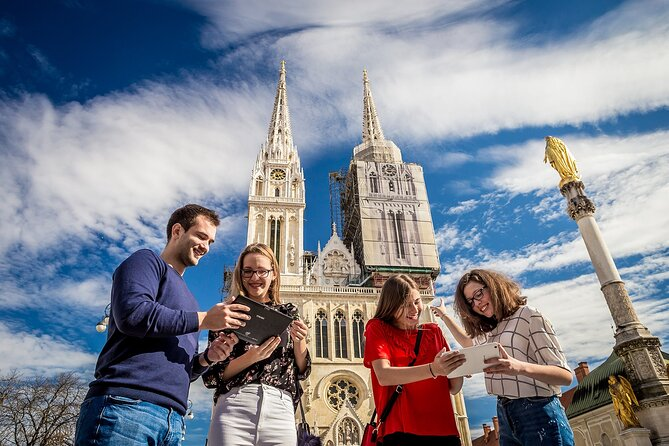 Zagreb Time Travel – Discover Zagreb with a fun interactive tablet city tour!