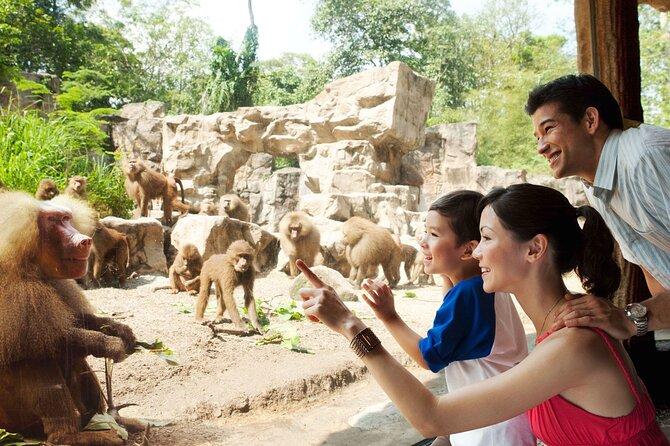 2-in-1 Park Admission (Singapore Zoo & River Safari)