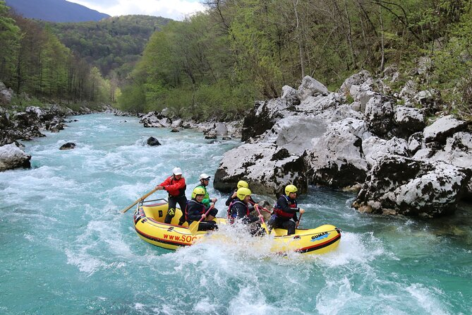 From Bled: Soca River Rafting
