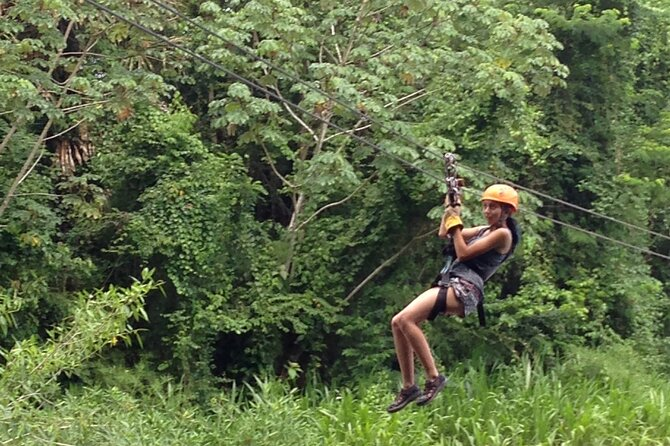 Cave Tubing Paradise And Jungle Zip Lining