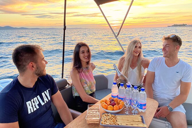 PRIVATE TOUR: Zadar Magical Sunset & Champagne Cruise – Drinks Included!