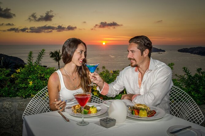 ROMANTIC 2 Sunset Drinks LUXURY Dinner at LAS BRISAS + 2 Drinks at Cliff Divers