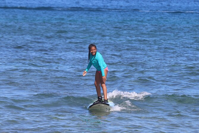 Private Beginner Surf Lessons in Ka'anapali