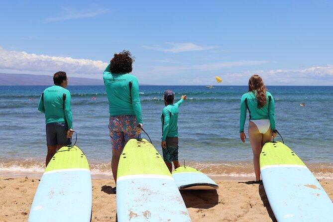 Semi-Private Surf Lesson for Three in Ka'anapali