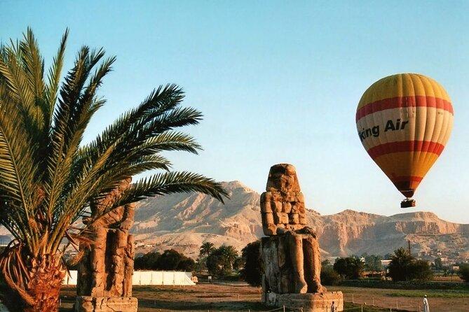 Hot Air Balloon Ride in Luxor During Sunrise