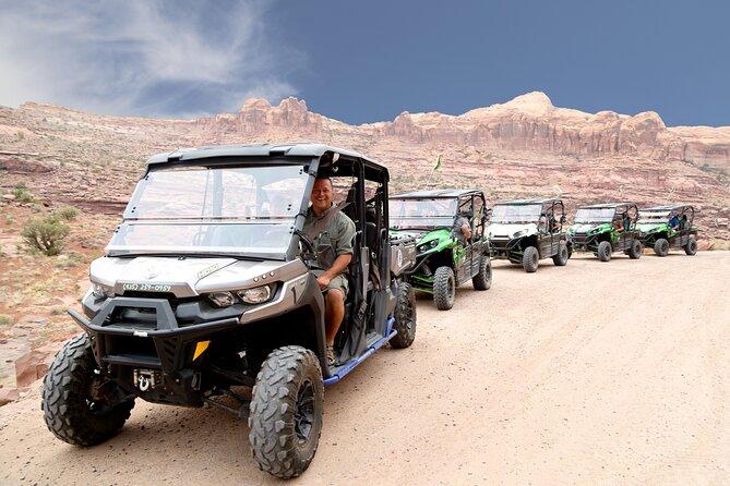 Hurrah Pass Scenic 4x4 Tour in Moab
