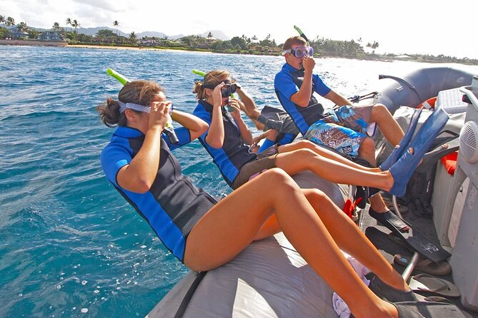 Kauai's Ultimate Na Pali Coast Zodiac Boat Snorkeling & Sea Cave Eco Tour