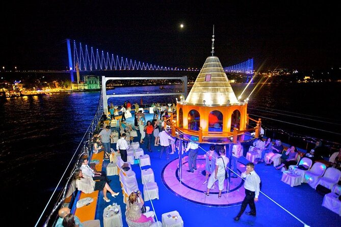 Bosphorus Dinner Cruise & Night Show from Istanbul