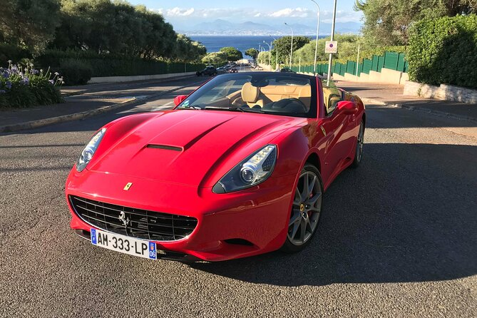 Private Tour of Juan les Pins by Ferrari