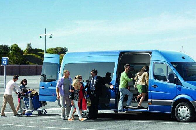 Civitavecchia Port Shared Shuttle to Rome FCO Airport