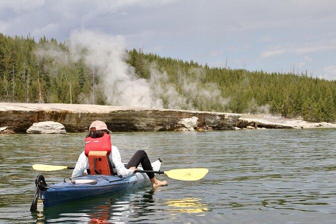 Yellowstone Lake Guided Kayaking Experience