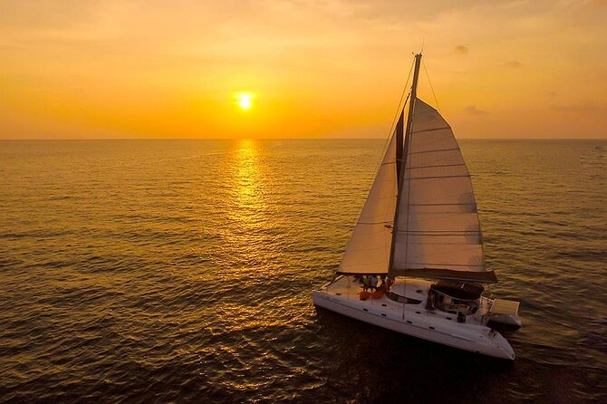 Full-Day Coral & Racha Islands Catamaran Yacht Tour w/ Snorkeling and Lunch