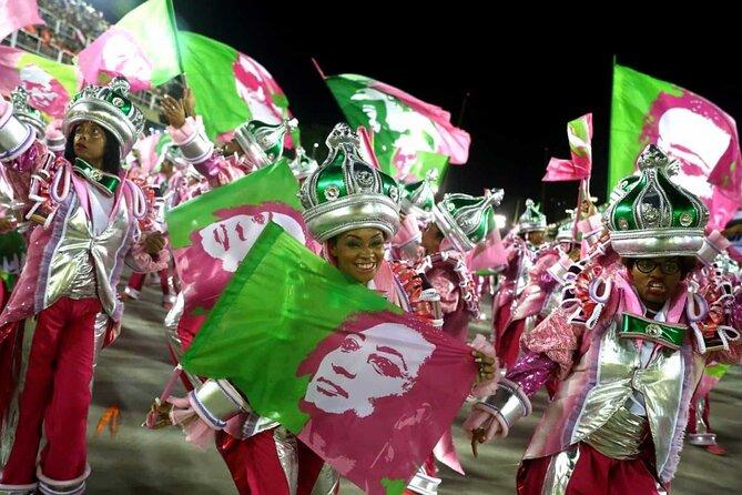 Rio de Janeiro Costume Experience in the Carnival Parade & Transfer