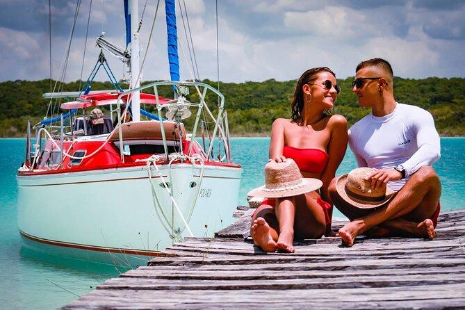 Private Sailing Tour- Bacalar Lagoon