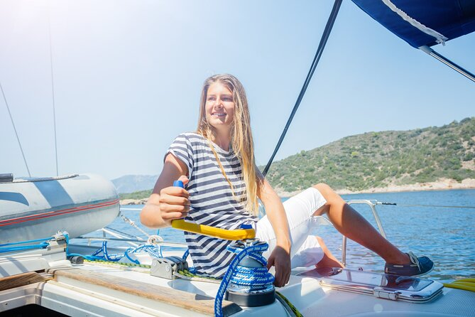 Sailing Adventure: Vineyards, Winery Tour and Wine Tasting from Barcelona