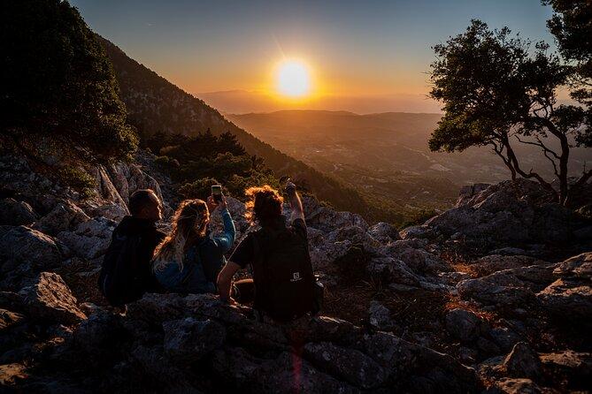 Sunset Hiking Profitis Ilias Mt