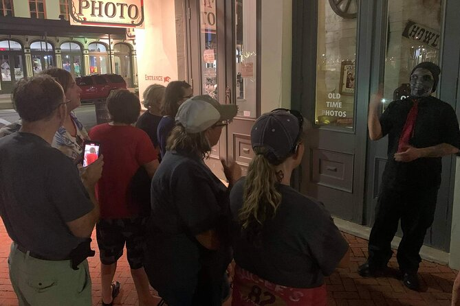 Zombie Guided Ghost Tour of The Strand in Galveston