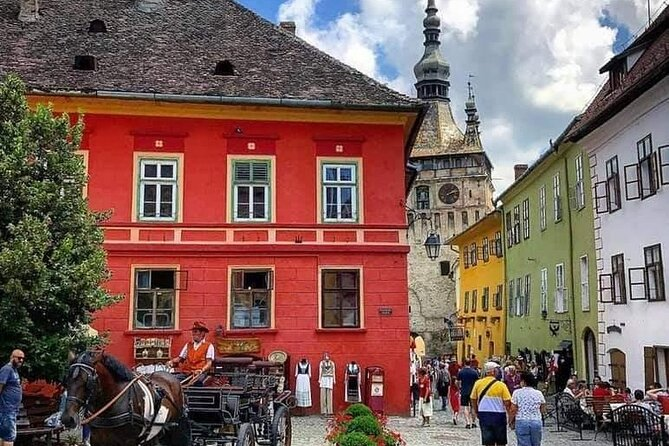 Private Tour from Brasov to Sighisoara, Rupea and Viscri Hotel Pick up/ Drop Off