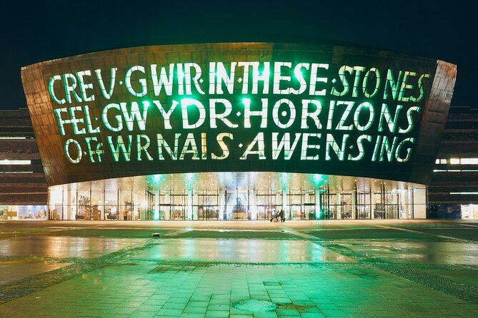 Cardiff Bay walking tour with a Professional Guide (small group max 7)