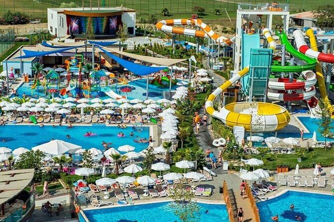 Marmaris Aqua Dream Waterpark Admission with Hotel pickup and drop-off