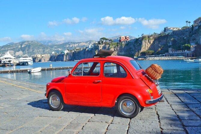 Photo tour on the Sorrento Coast with vintage Fiat 500
