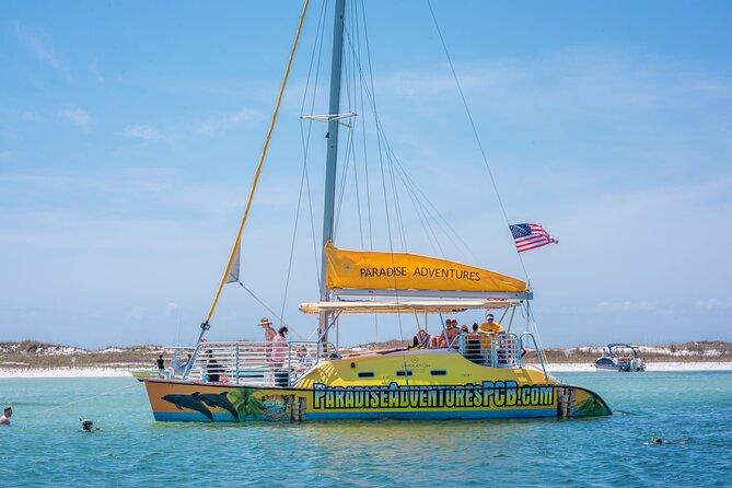 Catamaran Snorkel and Dolphin Watch Tour in Panama City Beach