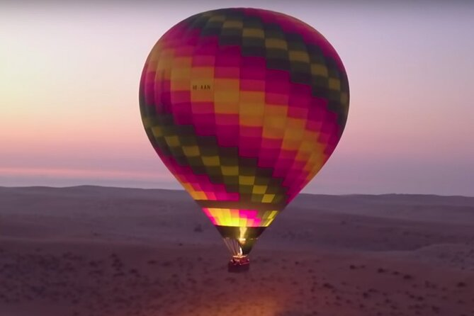 Beautiful Desert of Dubai By Hot Air Balloon