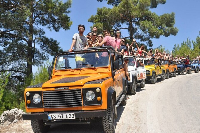 Small-Group 4x4 Safari Tour in Bodrum with Pick Up and Lunch