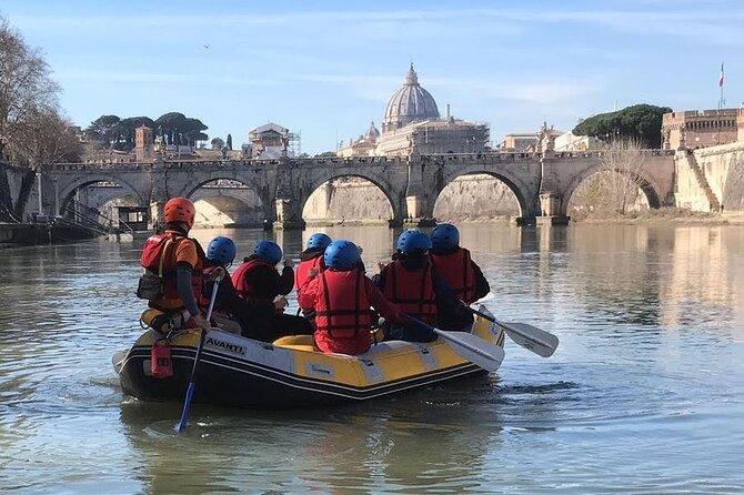 Urban Rafting on Rome's Tiber River