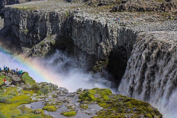 Lake Myvatn, Dettifoss and Goddafoss Waterfalls Day Tour from Akureyri