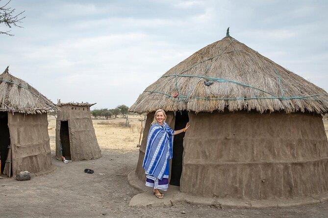 Maasai cultural village and hotsprings