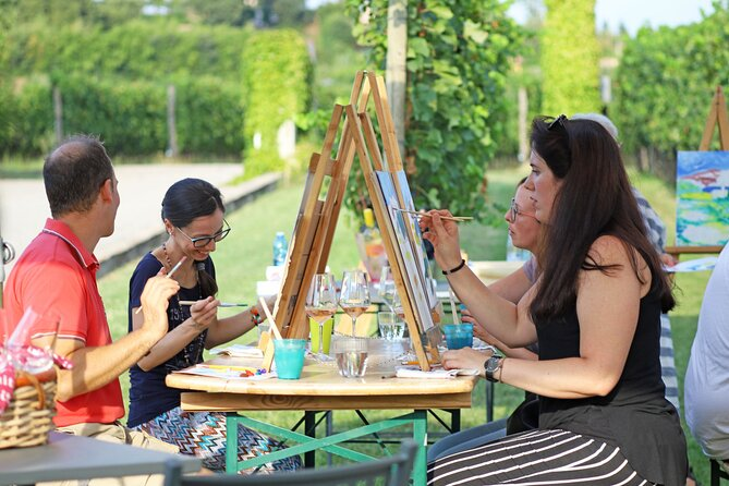 Art Experience with Food and Wine Tasting in Lazise