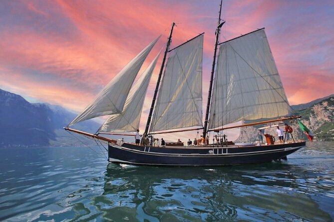 Sunset Cruise with Sailing Ship on Lake Garda