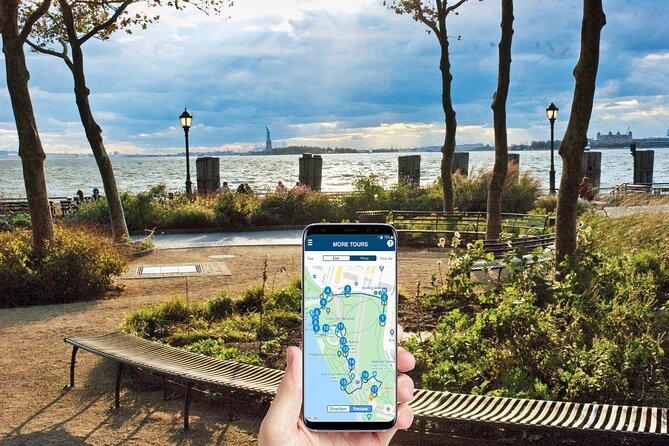 Selvparkeret vandretur i Battery Park