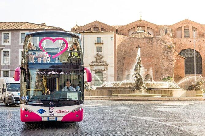 Tour panoramico Hop On Hop Off - I Love Rome