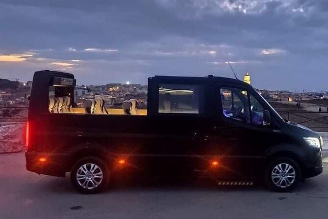 Experiential tour in luxury open top minivan